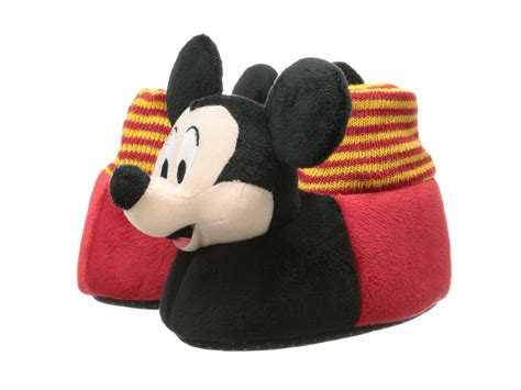 mickey mouse toddler slippers favorite characters disney mickey mouse sock top slipper