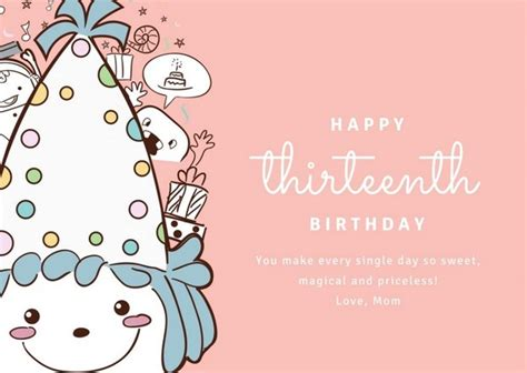 Top 70 Happy Birthday Wishes For Daughter 2019 Birthday Card Template For