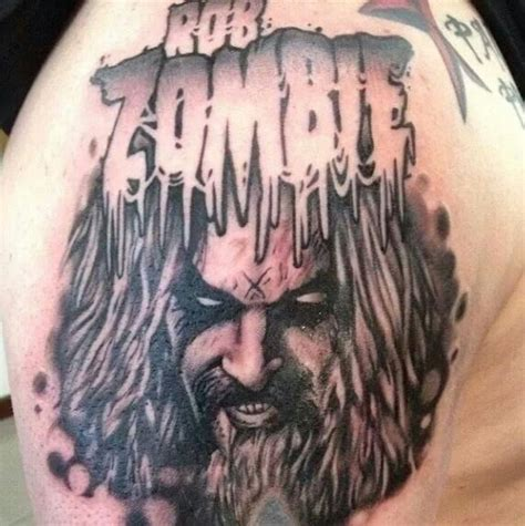 rob zombie tattoos rob ink zombies rob