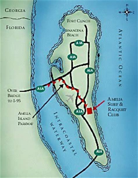 amelia island map free printable maps
