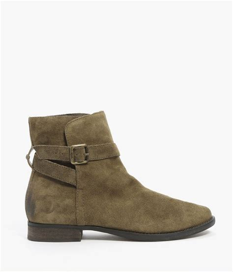 sam edelman ankle boots lyst sam edelman malone suede ankle boot in green