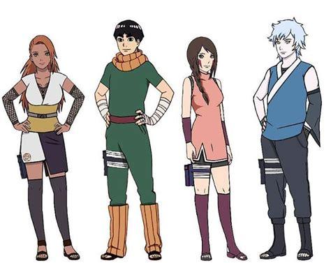 boruto list of characters mitsuki en taringa