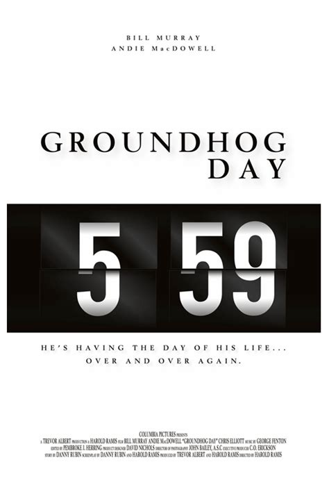 groundhog day radio 10 alternative posters you ve never seen