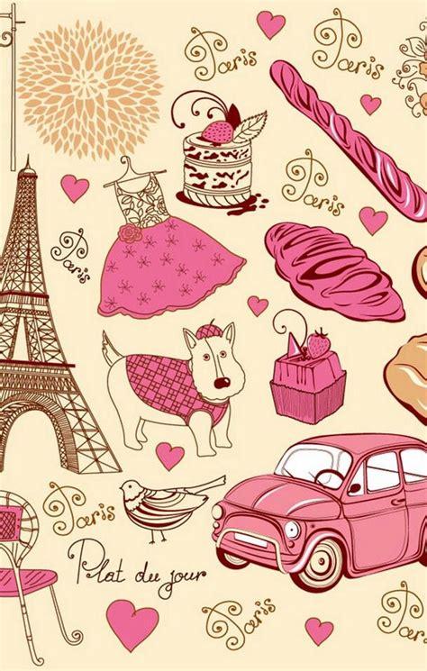 wallpaper paris girly cute paris wallpaper girly wallpapersafari