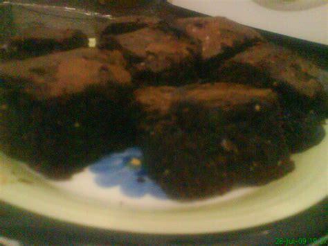 Brownies Panggang Cadbury mybakingworld chocolate melted brownie