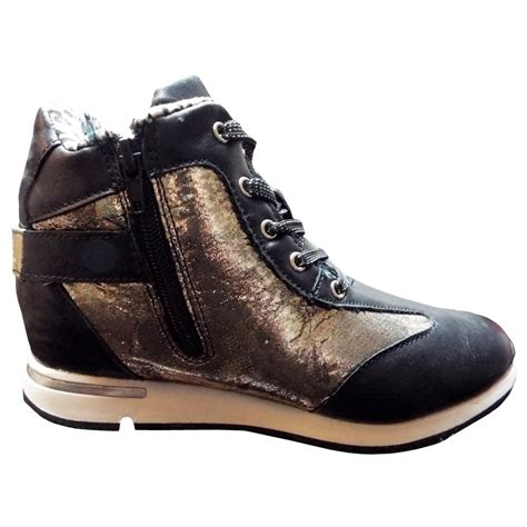 miss sixty shoes miss sixty black and gold high tops