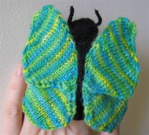 finger knitting patterns butterfly finger puppet knitting pattern my top knitting