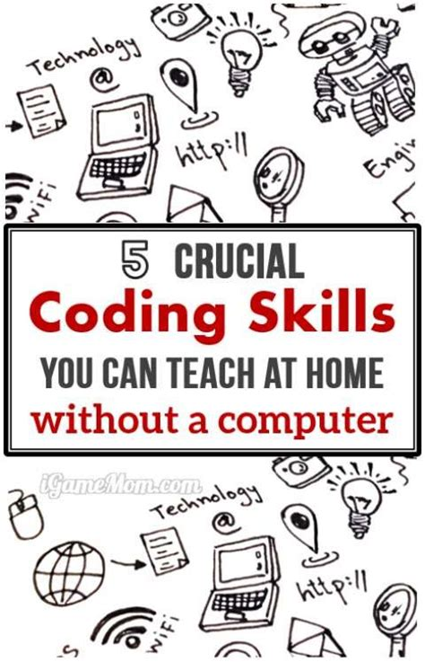 8 Skills You Can Teach Yourself On The by 5 Crucial Computer Coding Skills You Can Teach At Home