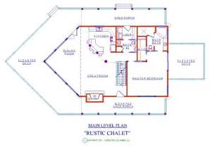 chalet plans rustic chalet log floor plan log cabin 3440 sq ft expedition log homes llc