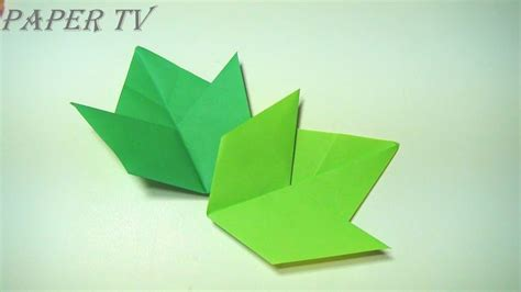 Origami Tv - 396 best origami leaves images on leaves