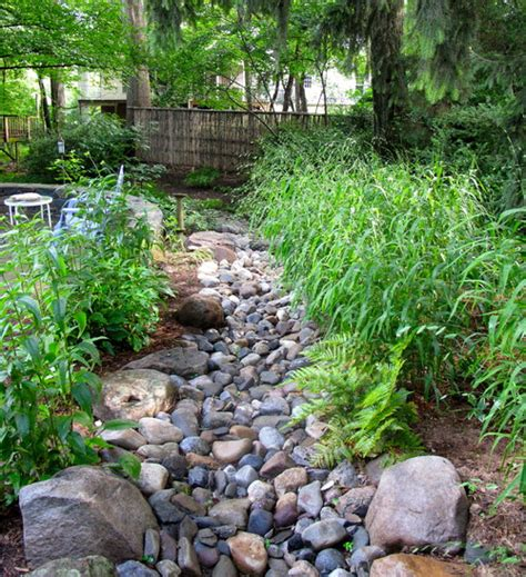 river rocks for landscaping proof landscape manage stormwater runoff mitigate