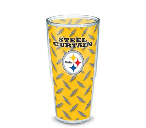 nfl steel curtain nfl 174 pittsburgh steelers steel curtain wrap tervis
