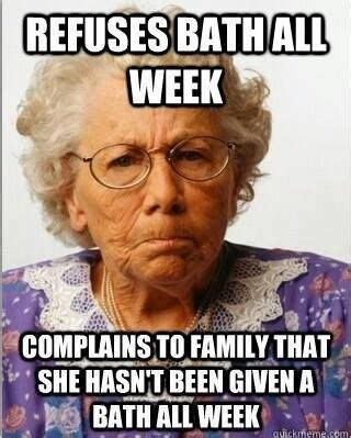 National Nurses Week Meme - yep old folks can certainly be like this bad ass