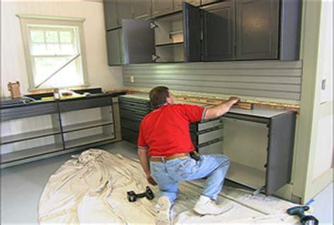Garage Cabinets Used On Hometime Current Programming Garage Update