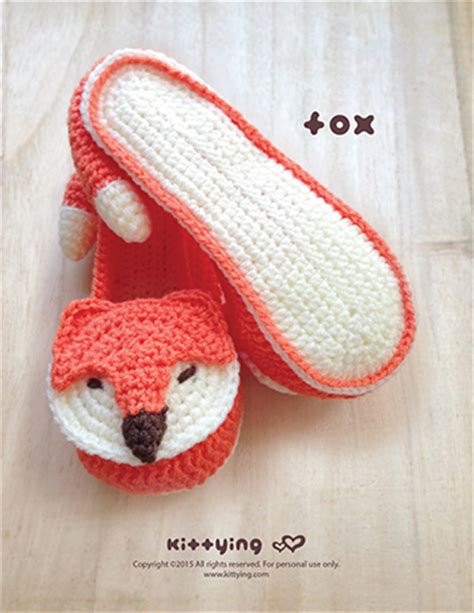 house slipper pattern fox women s house slipper crochet pattern mulu us kittying crochet patterns
