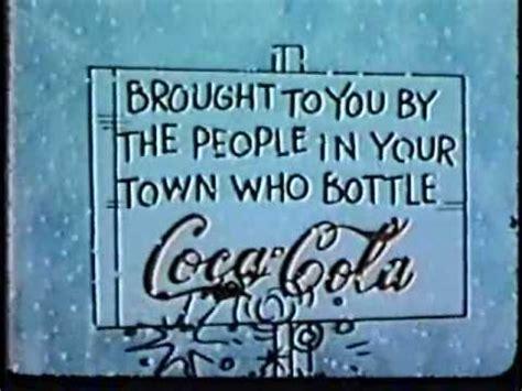 charlie brown christmas  coke sponsor open  color youtube