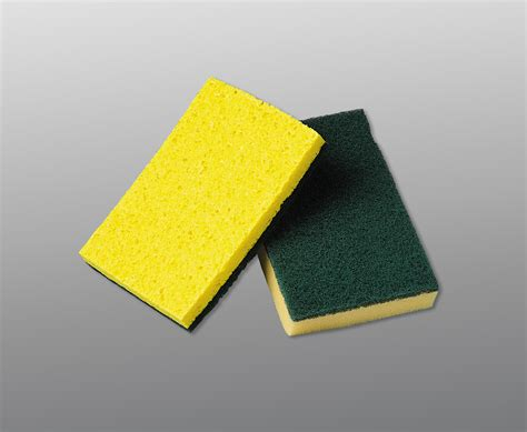 Scouring Pad vileda professional cellulose sponge with scouring pad