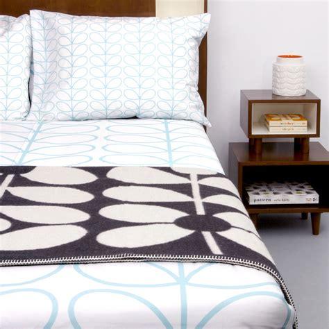 orla kiely bedding buy orla kiely linear stem duvet cover duck egg amara