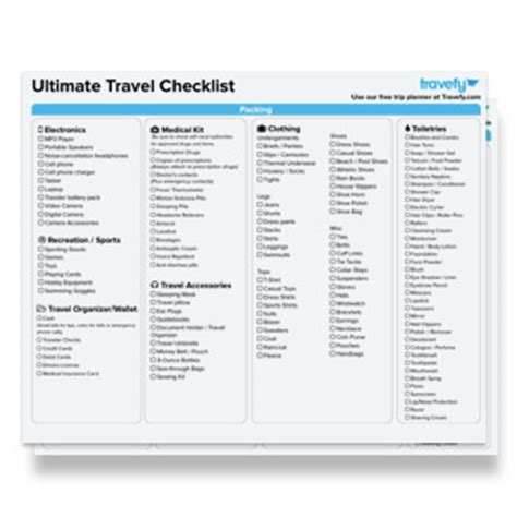 travel planner printable pdf travel planning ebooks guides free downloads travefy
