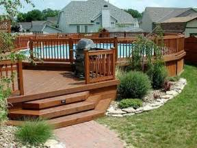 deck landscaping planting shrubs and trees around yo