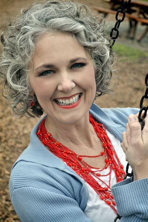 how to curl older women s hair 1000 images about curly grey hair style on pinterest