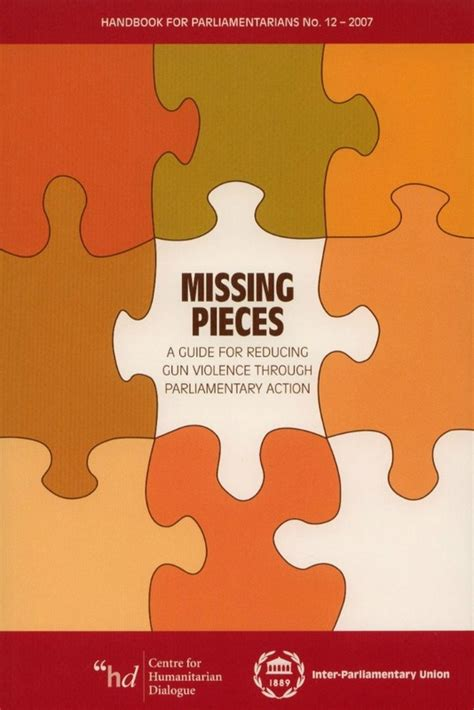 missing pieces a guide for reducing gun violence through