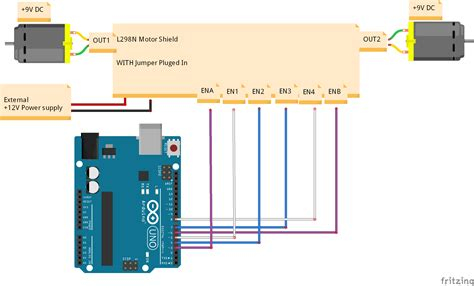 Lu Led Motor New Vixion esp8266 l298n motor drive smartphone hackster io
