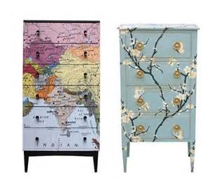 Chateau Bookcase Decoupage Is Simple Update Your Kids Furniture