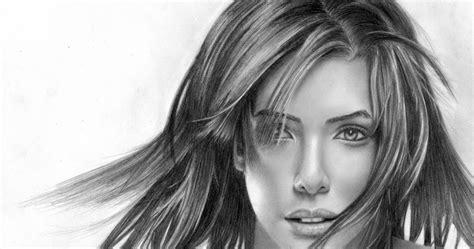 gambar sketsa wajah gambar pemandangan