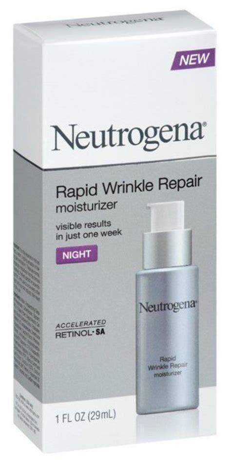 Facts Sunscreen Beats Moisturizer For Wrinkles by Neutrogena Rapid Wrinkle Repair Moisturizer
