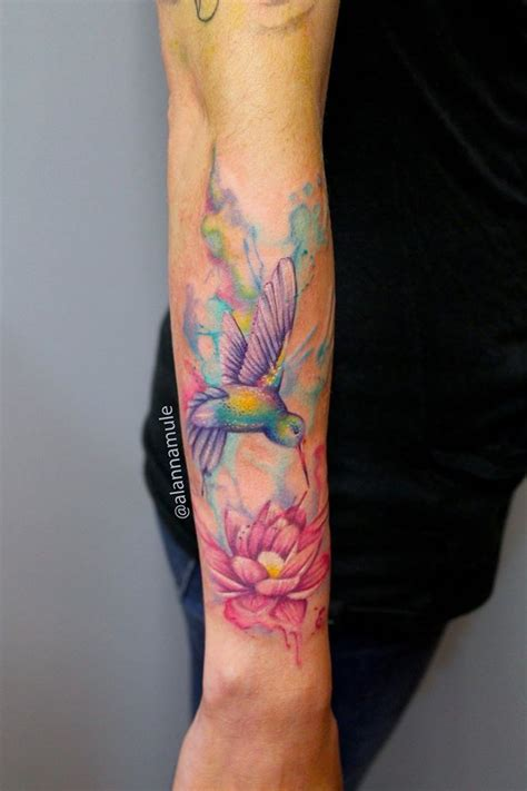 watercolor tattoos in toronto watercolor paint style alanna mule adrenaline