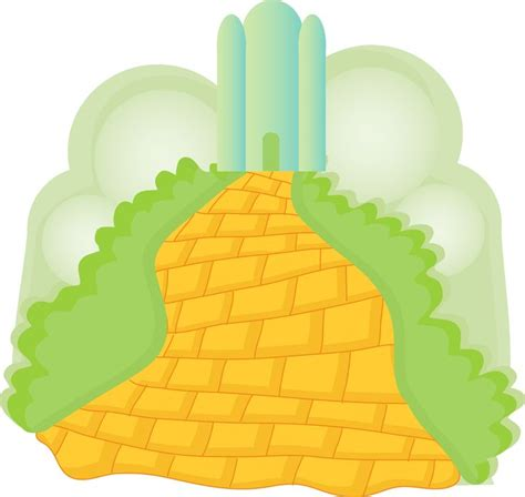 coloring pages of the yellow brick road yellow brick road clipart clipartxtras