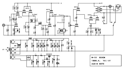audio note file format audio note m10 schematic