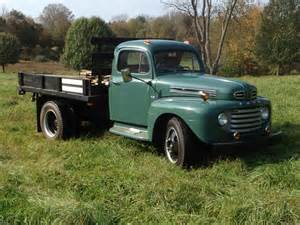 Ford F5 Auctions 1949 Ford F5 Flatbed Owls
