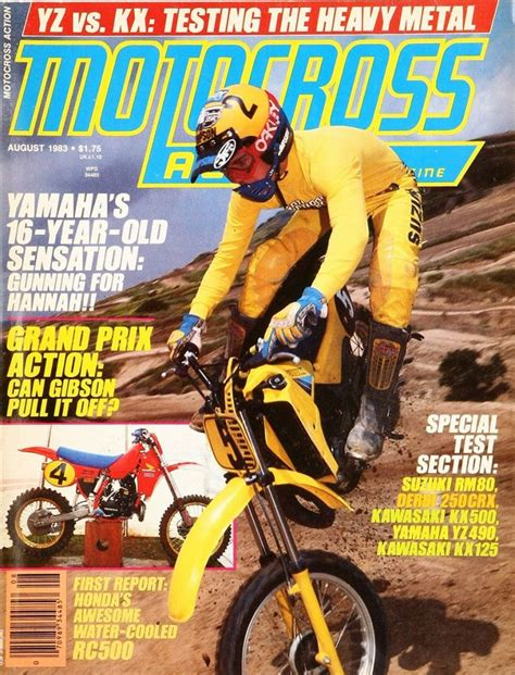bicycle motocross action magazine 107 best motocross action and dirt bike magazine covers