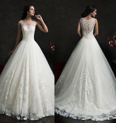 Abendkleider Hochzeitskleider by 2015 Weiss Spitze Ballkleid Abendkleid Hochzeitskleid