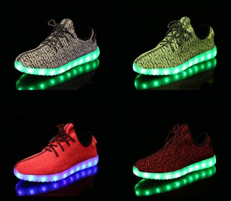Led Shoes Flah M 2016 dropshiping unisex led shoes breathable mesh running led shoes wholesales unisex