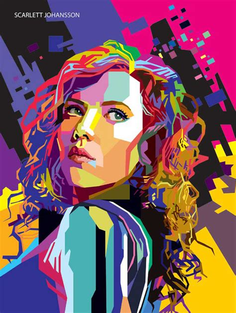 tutorial wpap art photoshop wpap art portrait illustrations tutorials inspiration