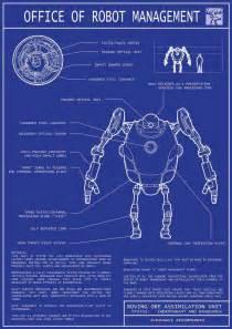 blueprint making robot blueprints 01 by jordanoth on deviantart