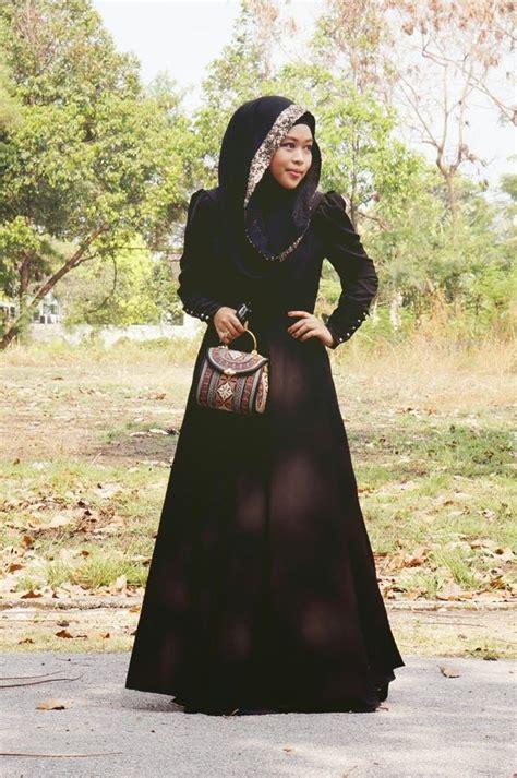 New Ayako Fashion Dress Muslim Maxi Safirah Hitam Hgb i want shea rasol s closet abaya hijabs and search