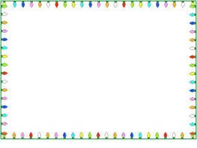 christmas lights border clipartion com
