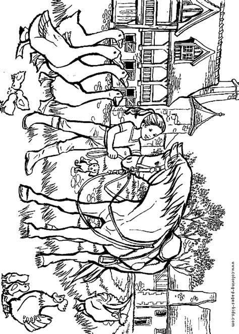 pony ride coloring pages free coloring pages of horseback rider