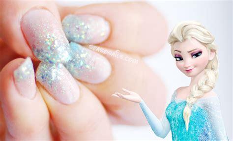 New Make Up Frozen Nail Easy Nail For Winter Frozen Nails Seasonails