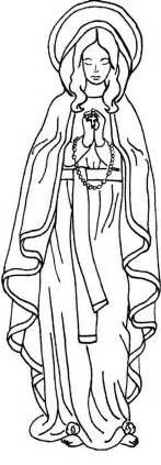 Immaculate Conception Coloring Page realistic coloring pages