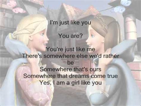 I M A Barbie Girl Meme - i m a girl like you barbie as the princess and the pauper