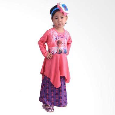 Pineapple Rok Baby Baju Muslim Anak jual babyshop f548 frozen rok batik gamis anak pink harga kualitas terjamin