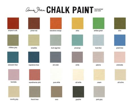 17 best images about chalk paint 174 colors on chalk paint colors milk paint and