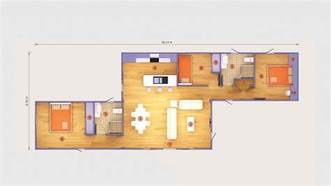 Design House Floor Plans Online Free 40 ft container house floor plans