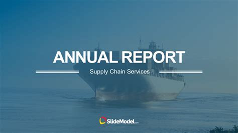 Supply Chain Annual Report Powerpoint Templates Annual Report Powerpoint Template