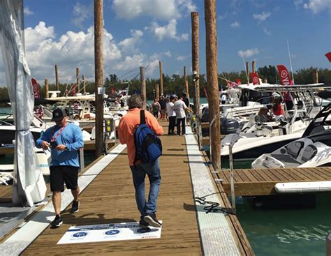 miami boat show december miami international boat show faces manatee stricture